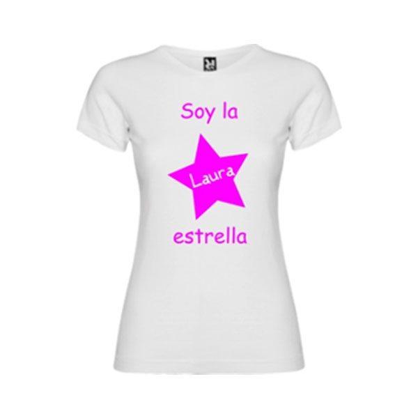 camiseta-blanca-soy-la-estrella