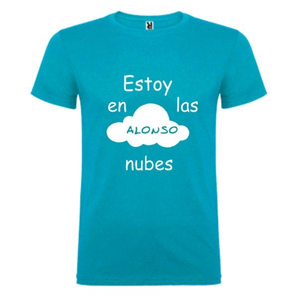 camiseta-celeste-estoy-en-las-nubes
