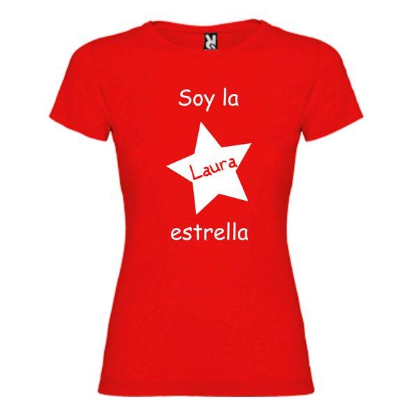camiseta-roja-soy-la-estrella