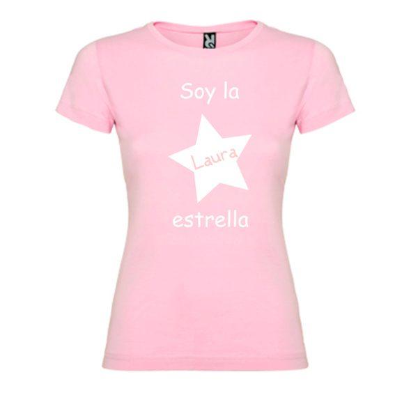 camiseta-rosa-soy-la-estrella